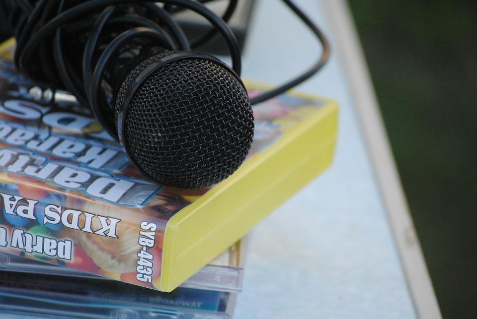 Microfono, Karaoke, Bambino, Infanzia, Melodia, Musica