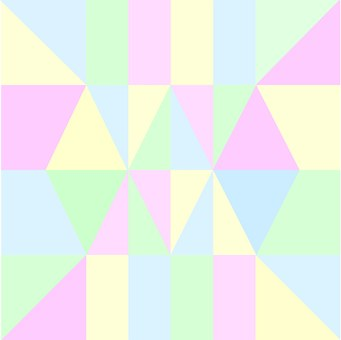 Pastels, Geometric, Abstract, Design