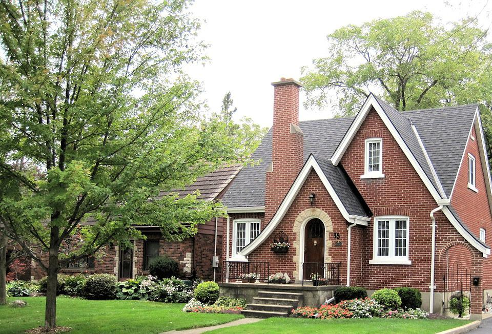 Elegant Red Brick House Design Architecture Ontario Canada