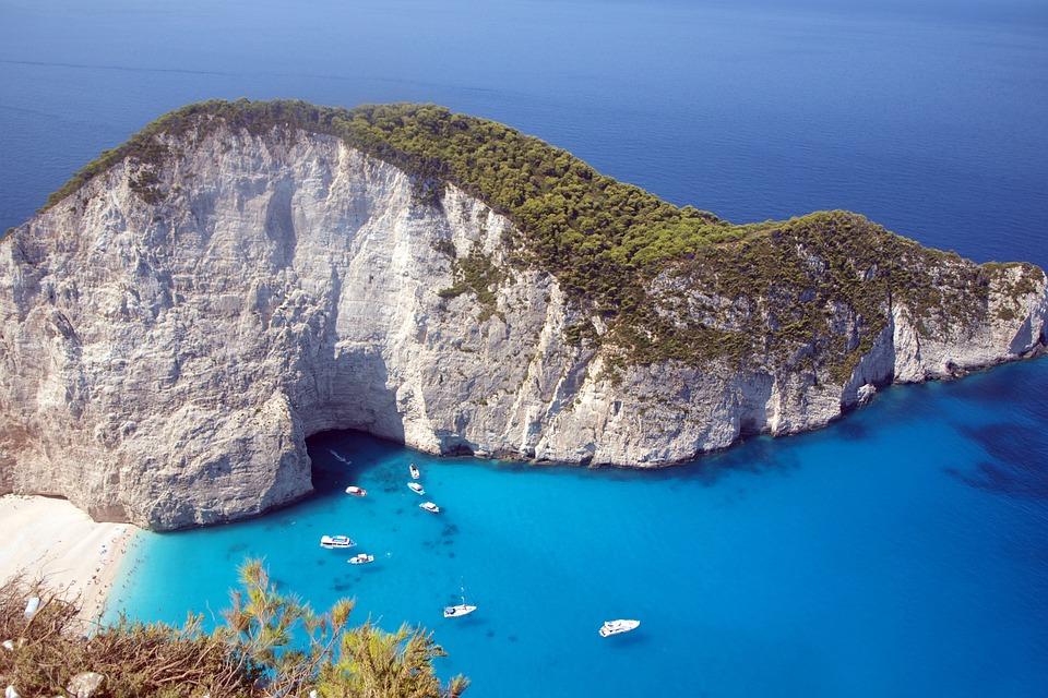 Zakynthos, Greek, Island, Sea, Blue, Summer, Travel
