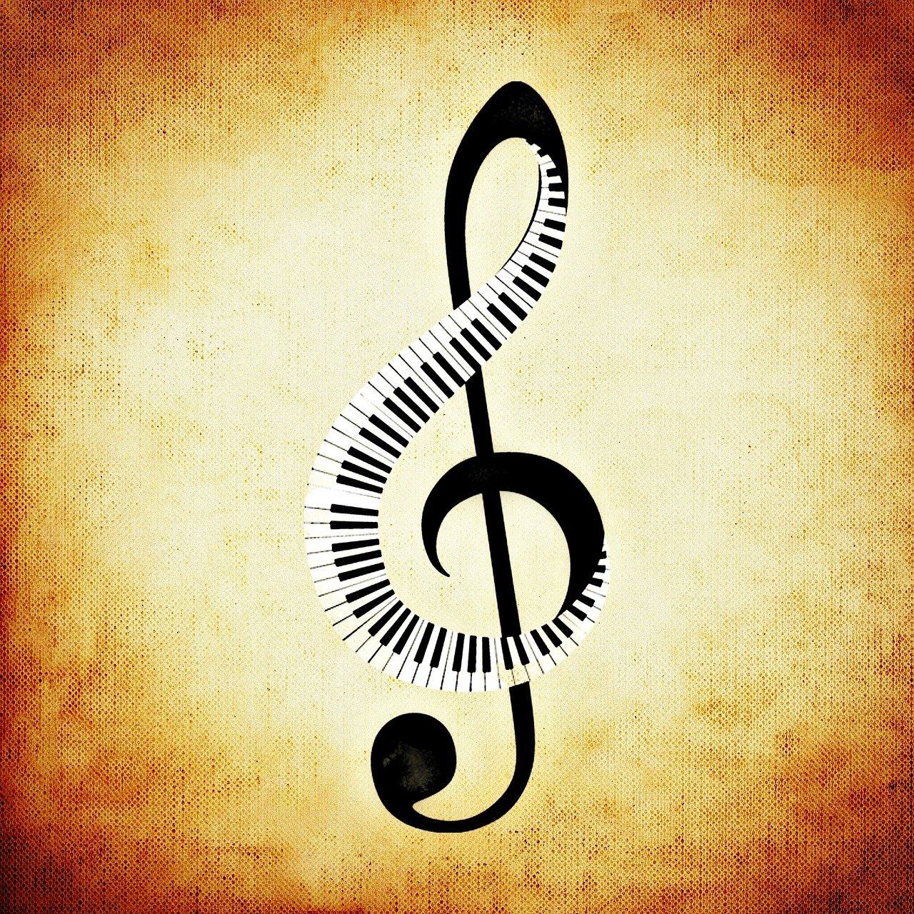 Скрипичный ключ с глазками картинки