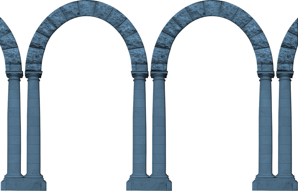 Free Illustration Arches Arcade Architecture Arch