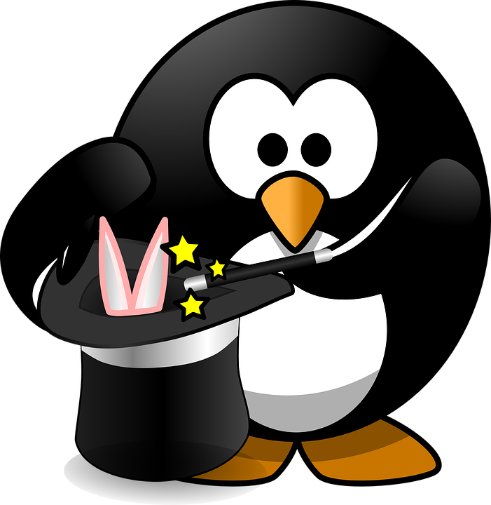Free Vector Graphic Magic Magician Bird Penguin Free