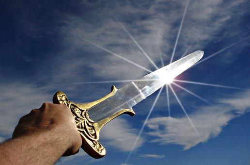 Sword, Victory, Triumph, Weapon, War