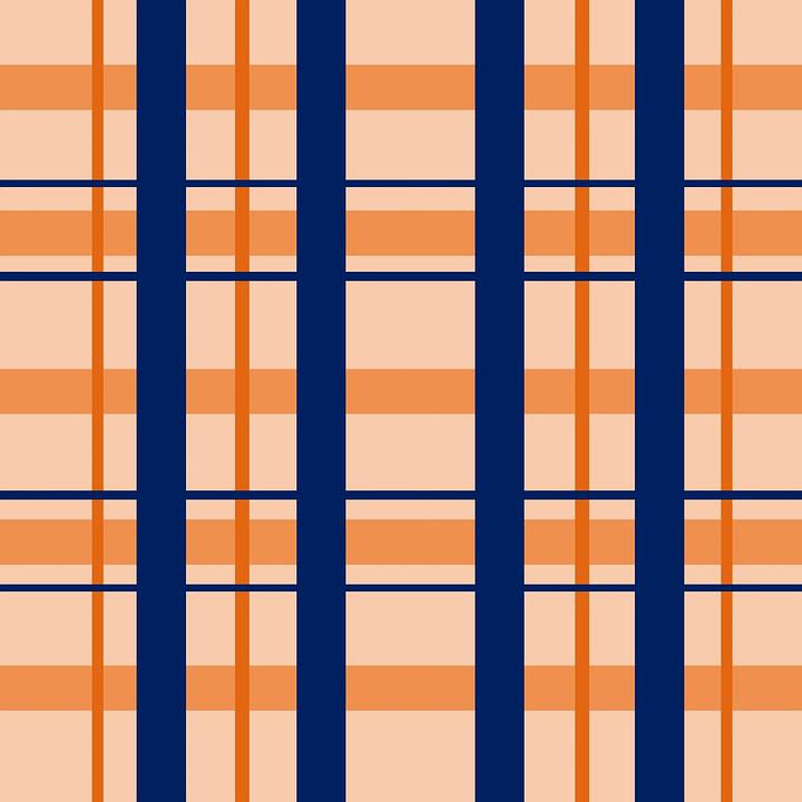 plaid design salmon free image on pixabay