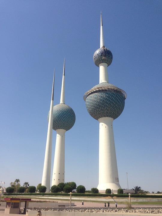 free photo kuwait towers arabia gulf free image on
