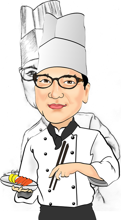 Chef Caricatures Sail 183 Free Vector Graphic On Pixabay