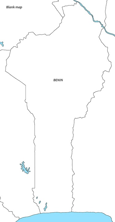 Free Illustration White Map Beniin Benin Map Empty Free - Empty map of africa