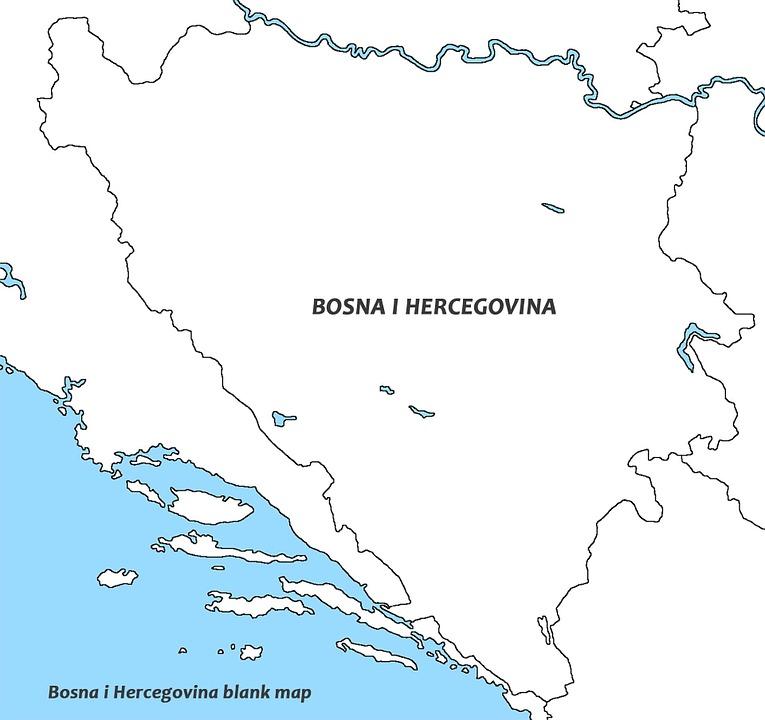 karta bosnien och hercegovina Bosnien Och Hercegovina Vit Karta · Gratis bilder på Pixabay karta bosnien och hercegovina