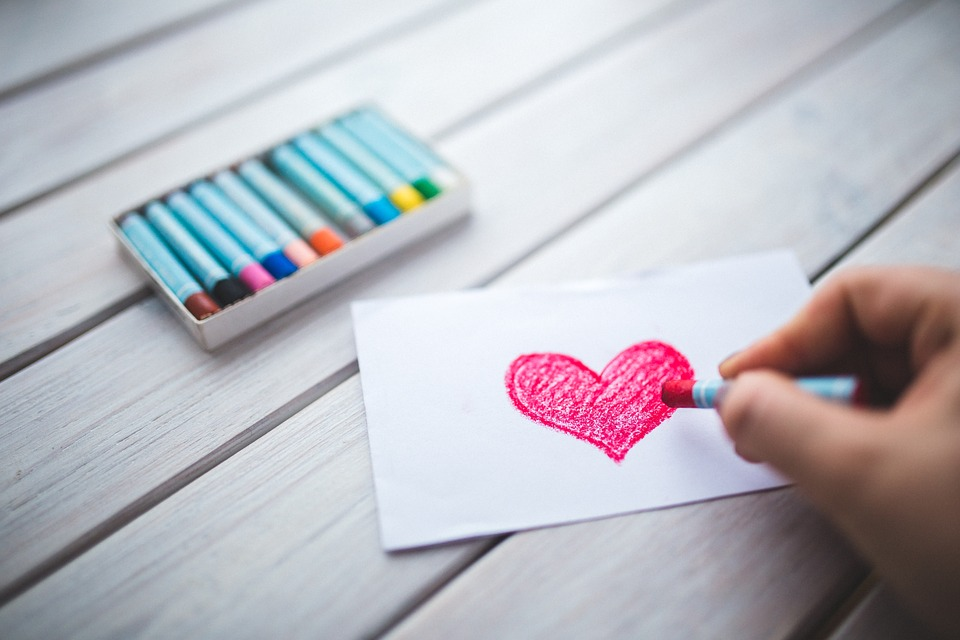 Srdce Kresleni Vykres Fotografie Zdarma Na Pixabay