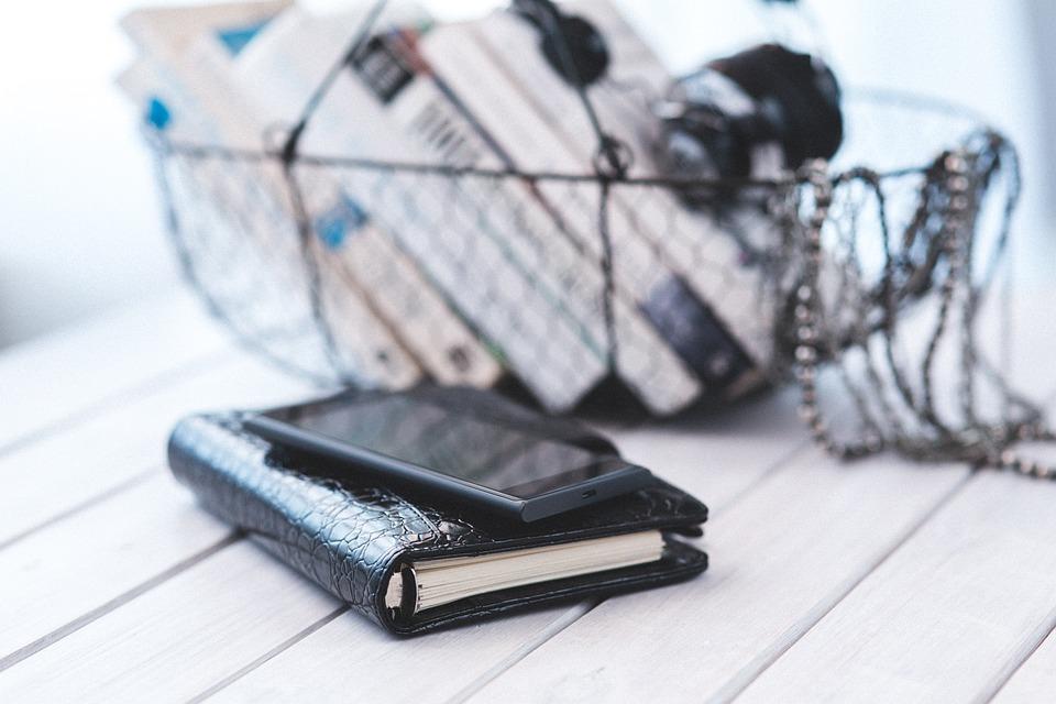 Notebook, Organizer, Calendar, Black, Elegance, Elegant
