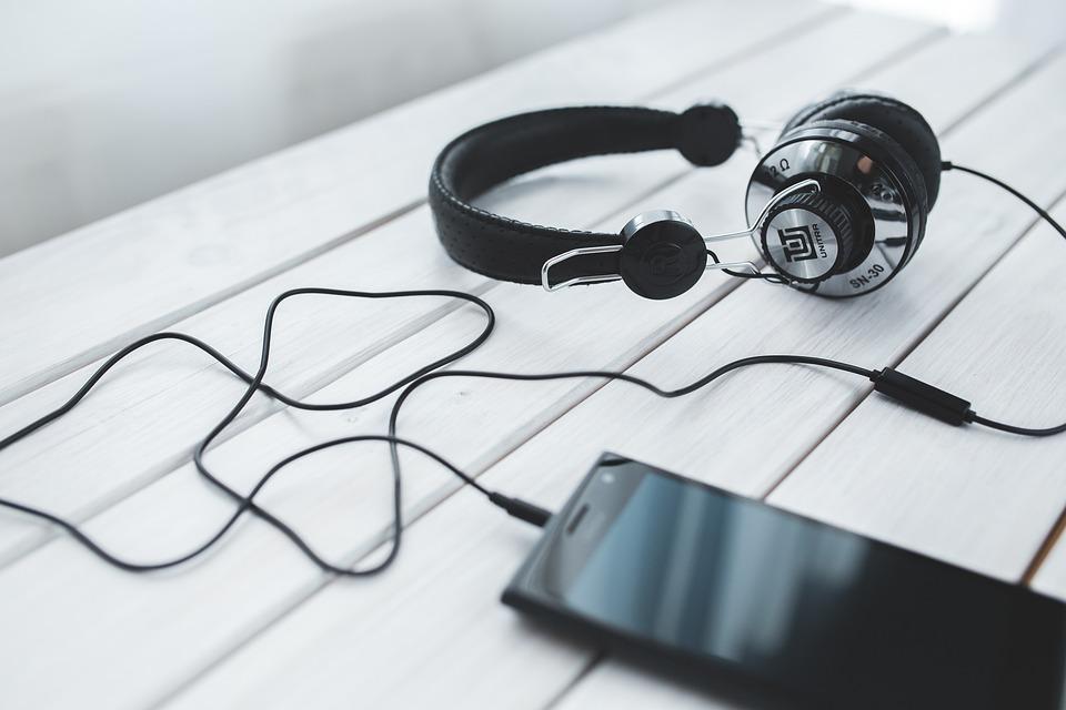 Cuffie, Smartphone, Musica, Tecnologia, Ascolto