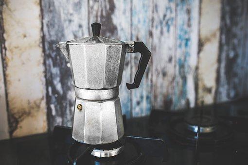 Coffee Pot Maker Percolator Italian Octago