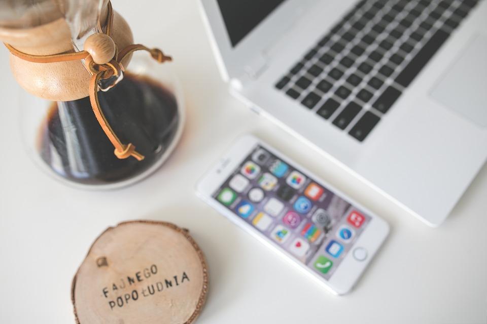 Chemex coffee desk