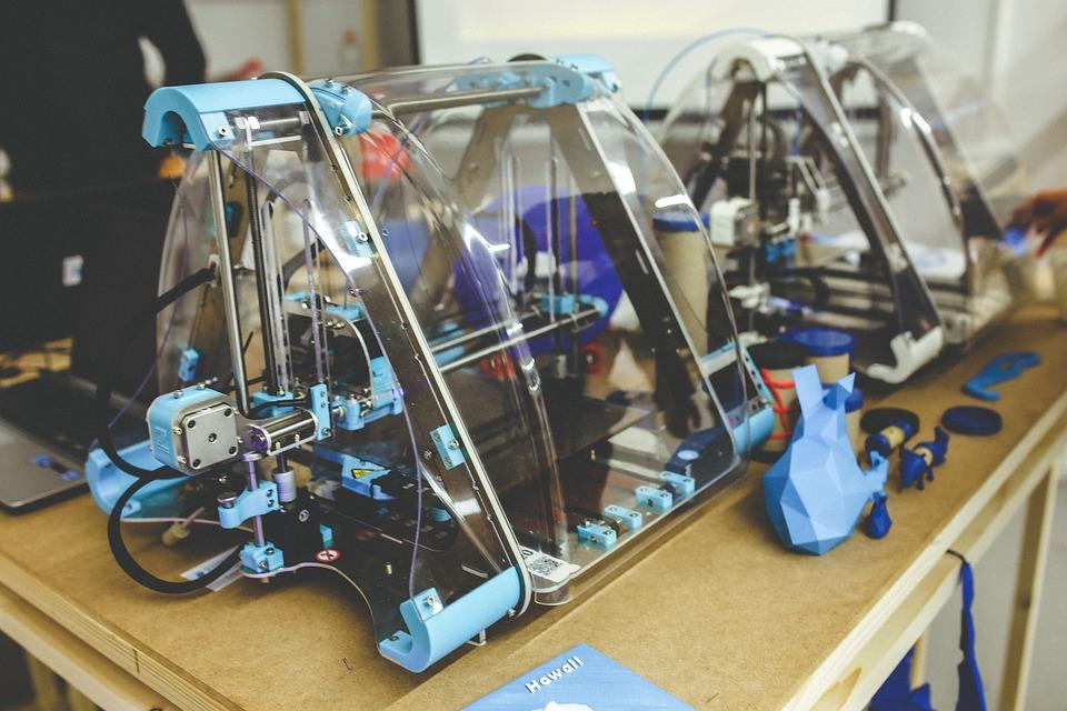 3D, Drukarki, Drukowanie, Technologia, 3D Model