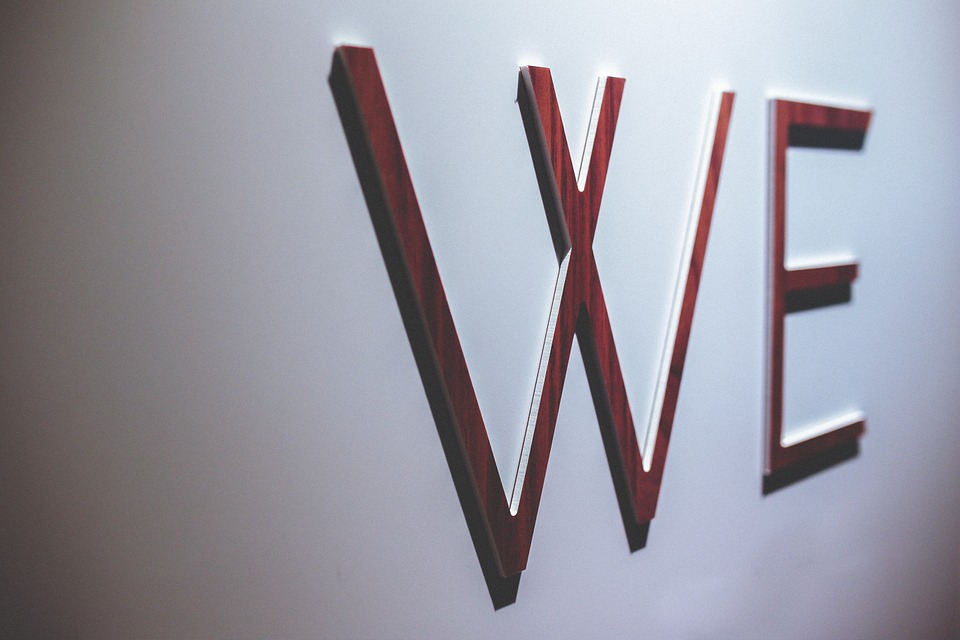 wooden letters we word wall