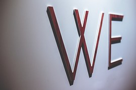 Wooden, Letters, We, Word, Wall