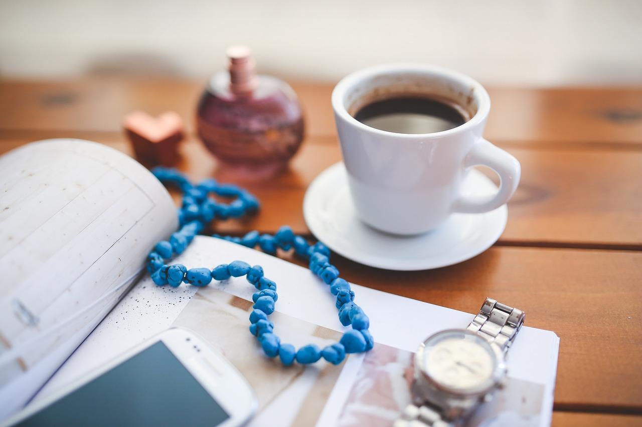 コーヒーとアクセサリー
