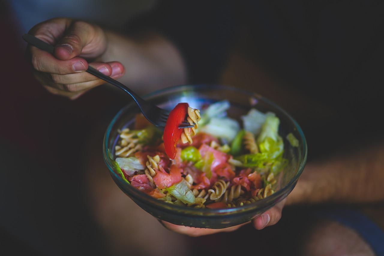 Eat Eating Salad - Free photo on Pixabay