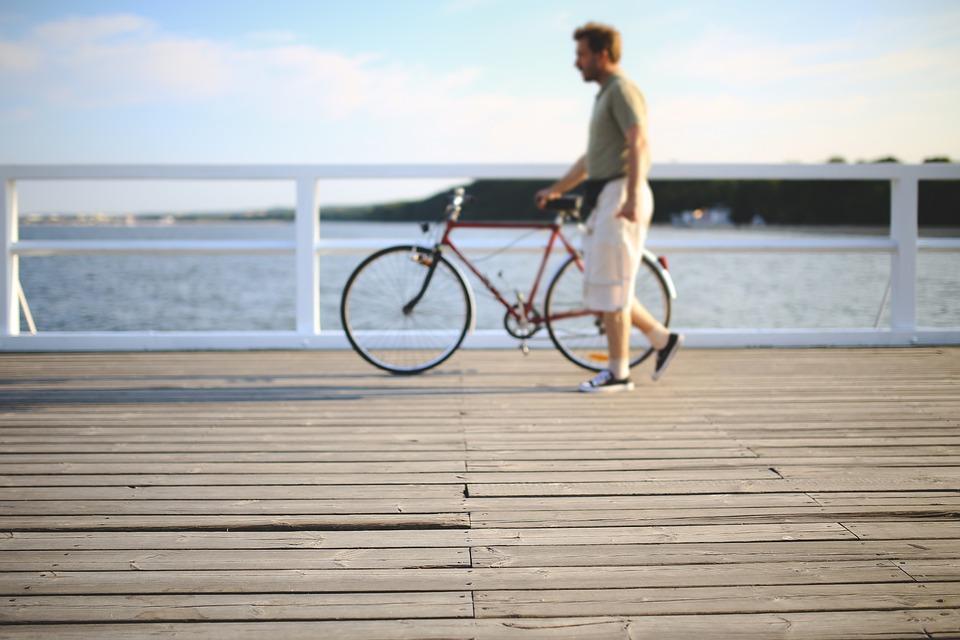 Free Photo Man People Bicycle Bike Walk Free Image On