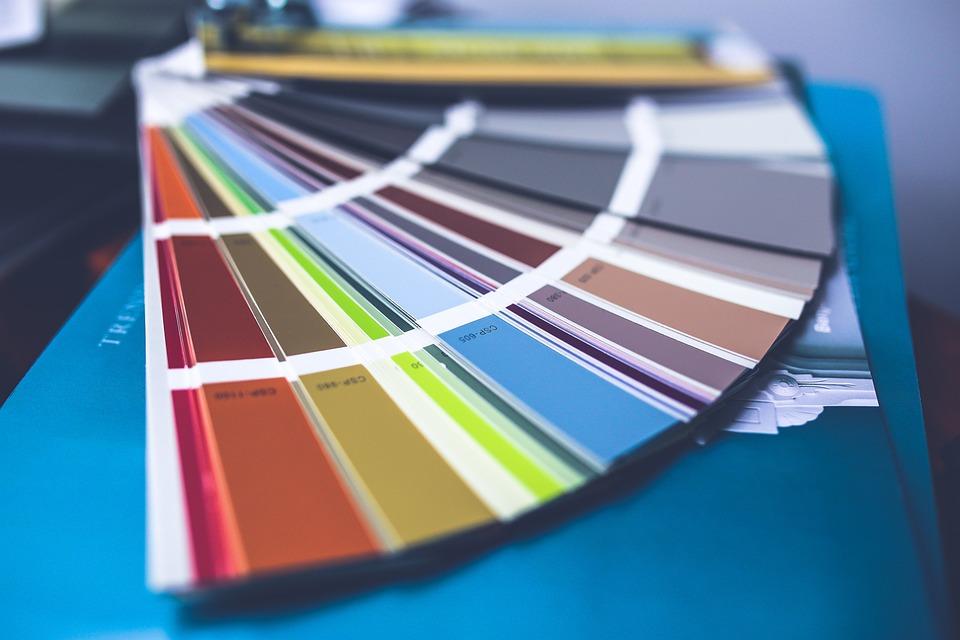 Färg, Palett, Vägg Målning, Översyn, Renovering