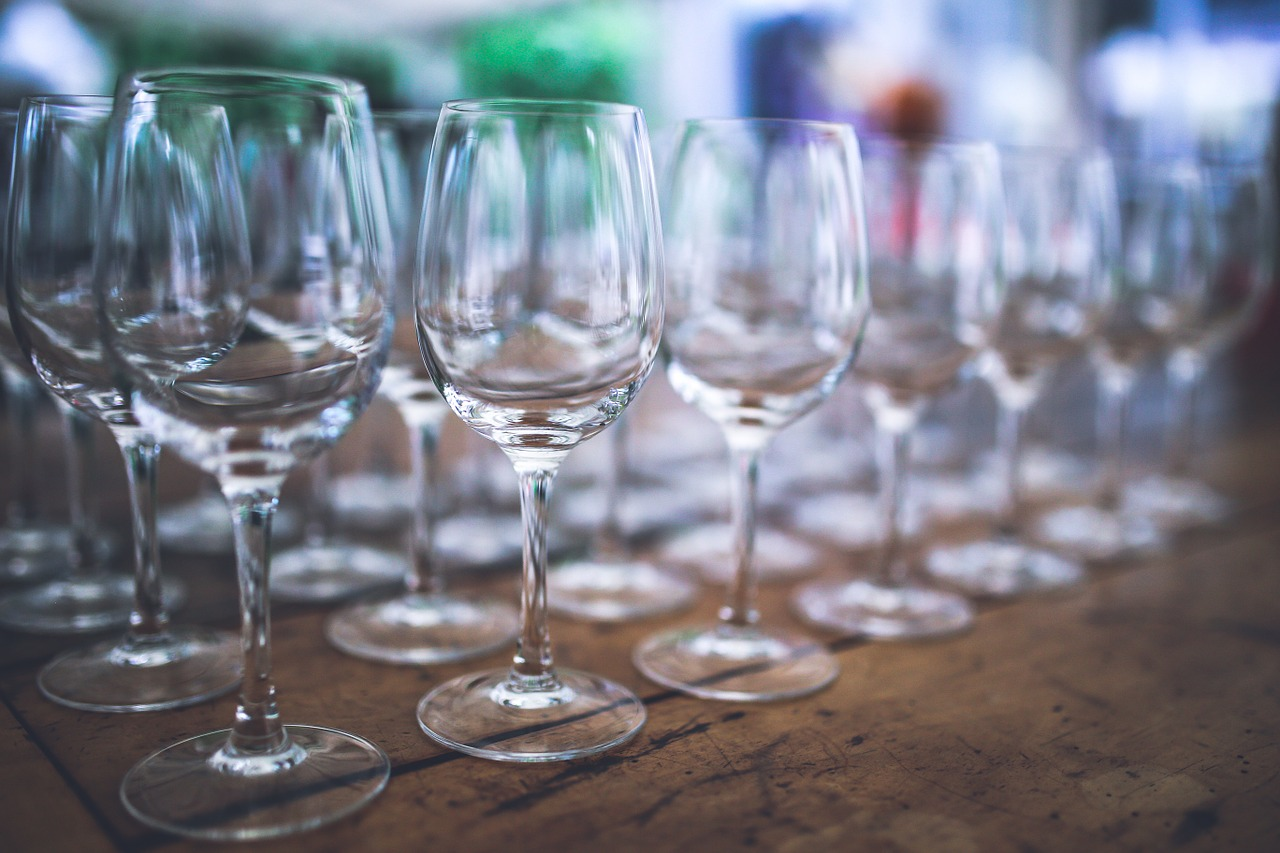 Empty Wine Glasses - Free photo on Pixabay