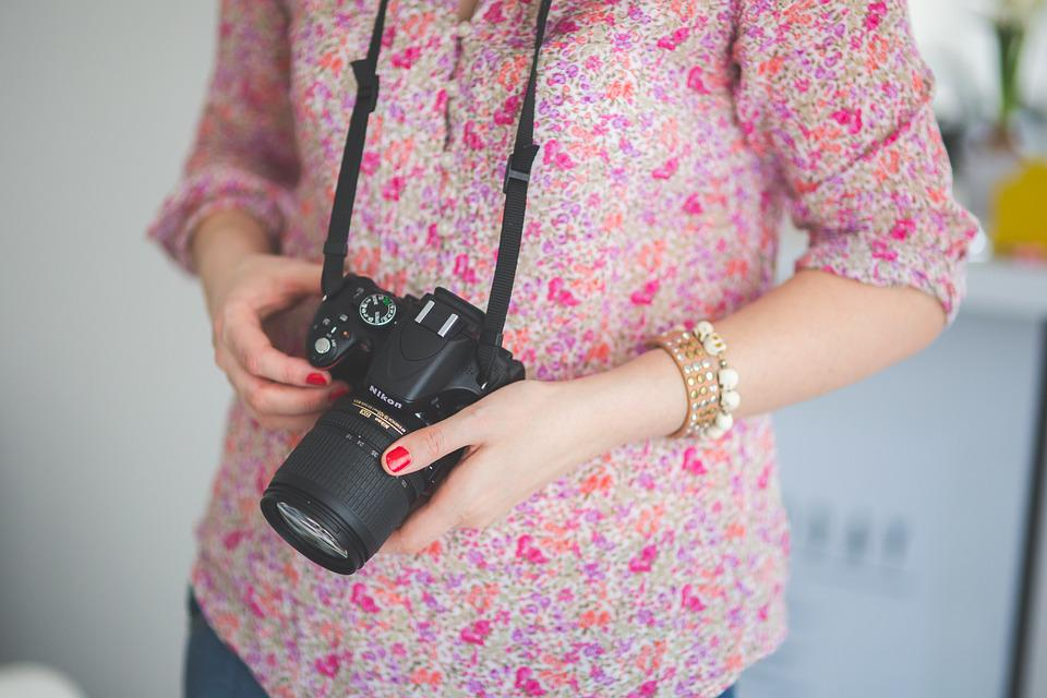 Dslr, Camera, Nikon, Photographer, Photoshooting, Girl