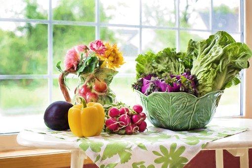 Vegetables Fresh Veggies Food Healthy Gree