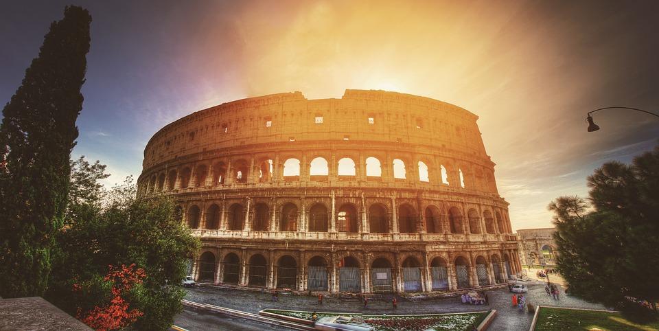 Colosseum, Europa, Italia, Roma, Călătorie, Arhitectura