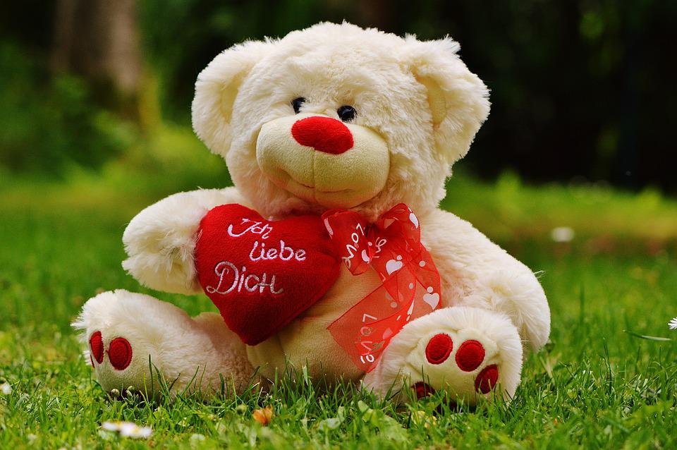 Teddy Bear, Valentineu0027S Day, Love, Bear, Greeting Card