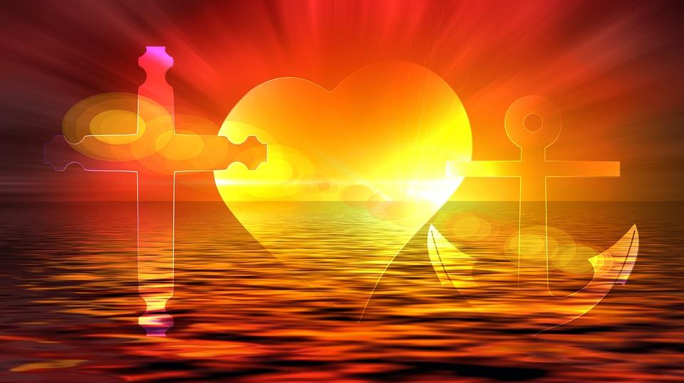 Free illustration: Cross, Heart, Anchor, Love, Hope - Free Image ...