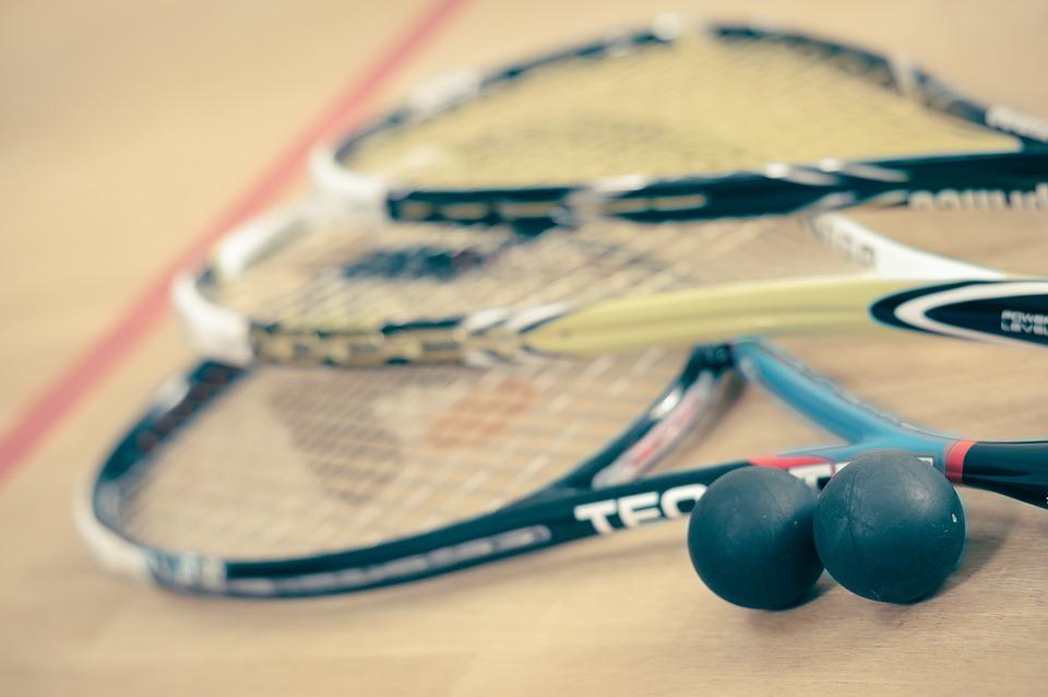 Squash, Sport, Mann, Spiel, Schläger, Kugel, Fitness