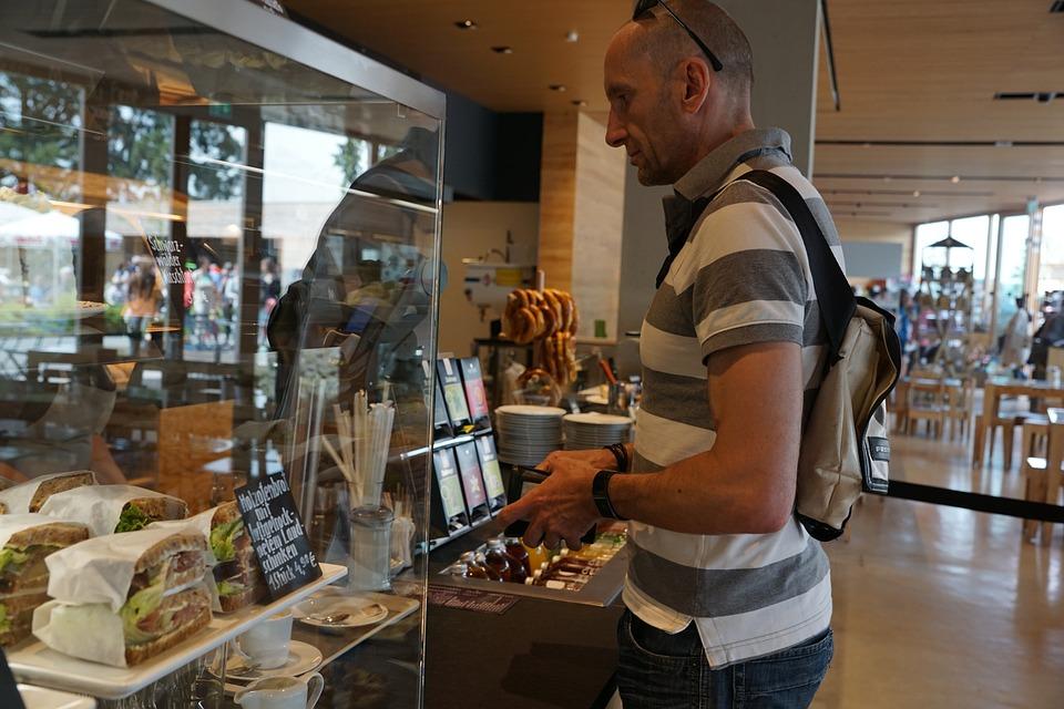 Free Photo Bakery Shopping Man Eat Bread Free Image