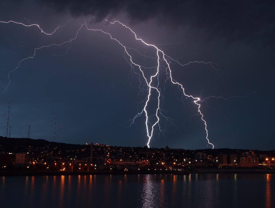 Storm Lightning Clouds Light City Night & Free photo: Storm Lightning Clouds Light - Free Image on ... azcodes.com