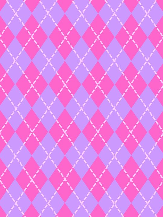 Free Illustration Texture Background Argyle Pink