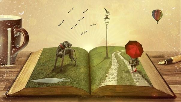 Buch, Hund, Märchen, Kinder, Kind