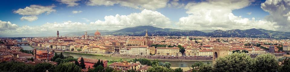 Florenz, Tuscany, Reisen, Panorama, Italien