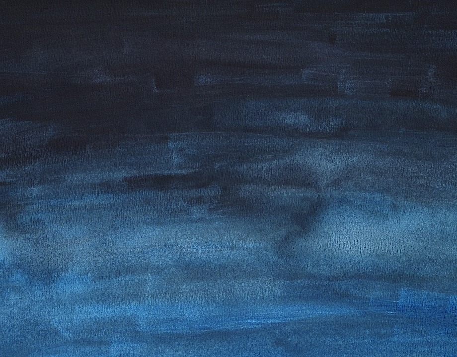 dark blue watercolor background