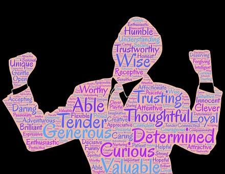 資質, 男, 自信, 自信を持って, 人間, 確約, 自尊心, 価値があります