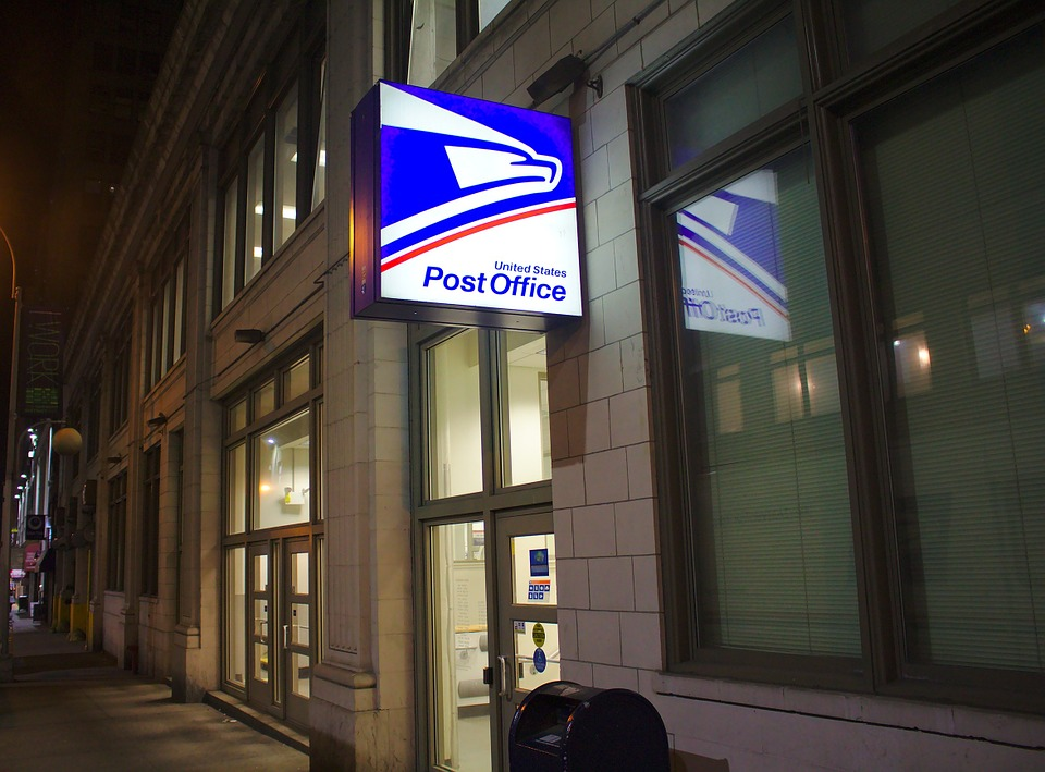 Usps, Post Office, Building, Nyc, City, Logo