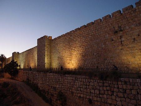 Wand, Jerusalem, Israel, Altstadt