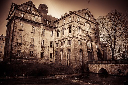 House Old Haunted House Haunted Castle Aba