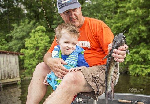 Fischerei, Kindheit, Freizeit, Kinder