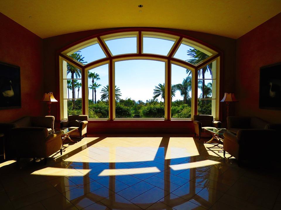 무료 사진: 로비, 호텔, 건축물, 창, 실내 장식, 유리, 여행, 빛, 새 ...