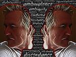 discordance, ambivalence, ambiguity