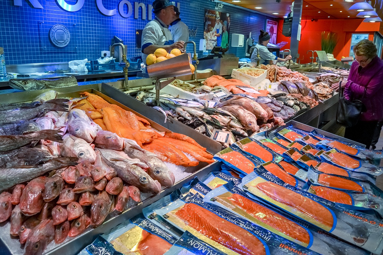 Купить рыбу и морепродукты в интернетмагазине Москвы