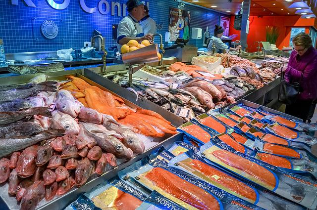 Free photo fish market fish market food free image for Phil s fish market eatery