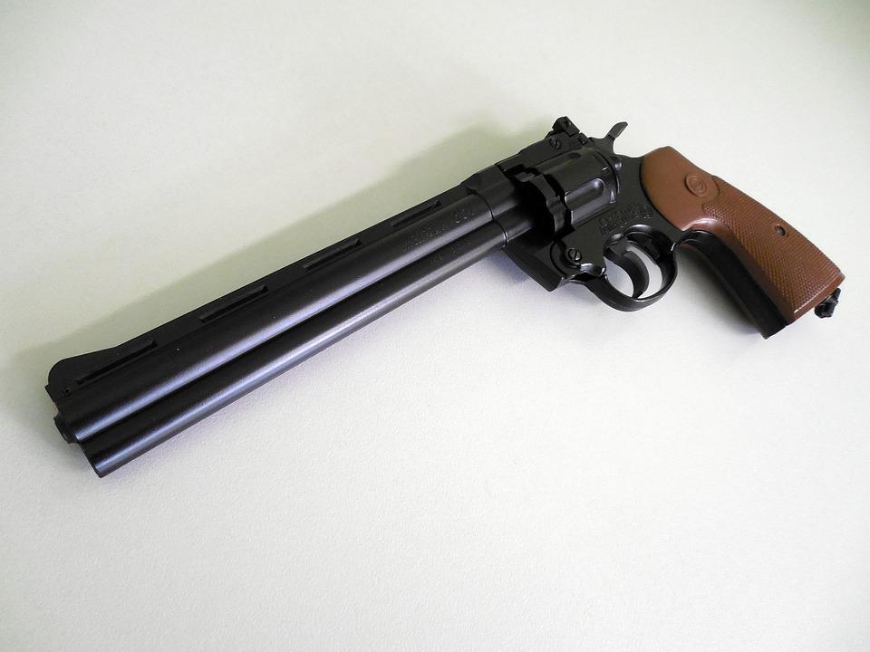Photo gratuite pistolet air comprim revolver image - Pistolet air comprime ...