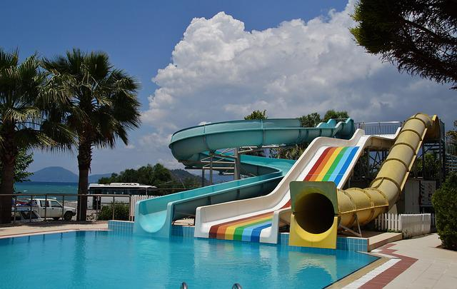 Free photo water slide slide swimming pool free image - Swimming pools in liverpool with slides ...