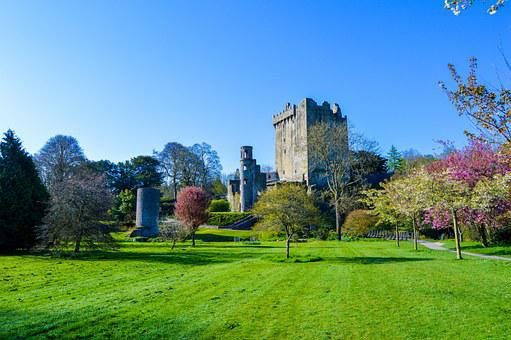 Castle, Blarney, Ireland, Stone, Irish
